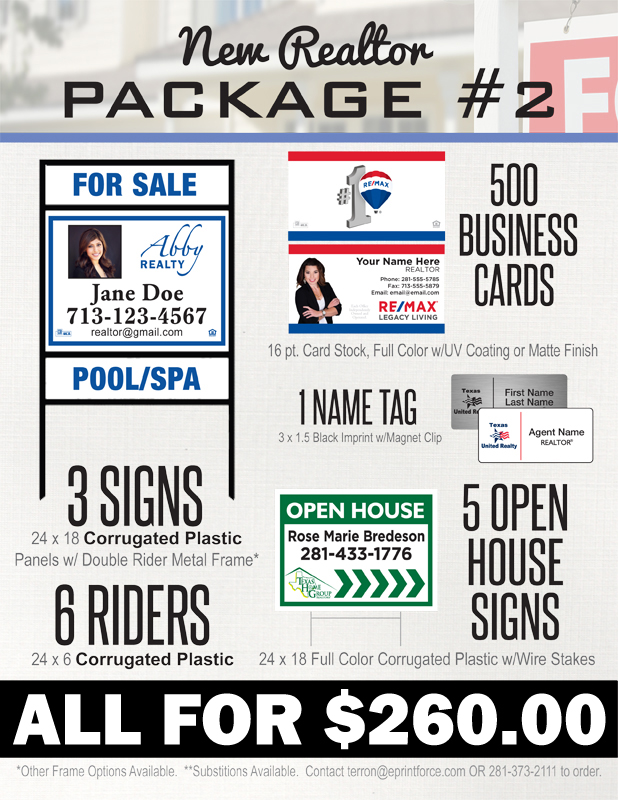 New Realtor Package #2